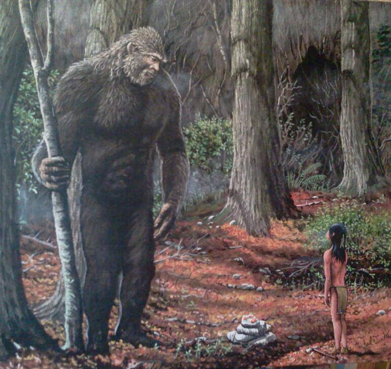 Bigfoot meeting