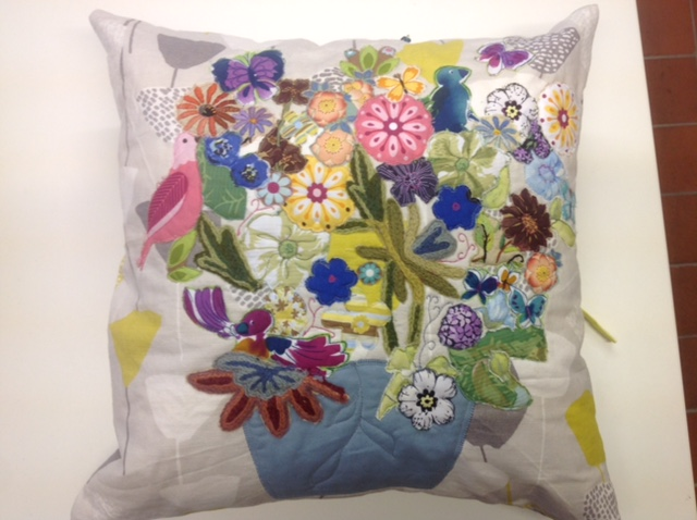 Applique cushion coverJPG