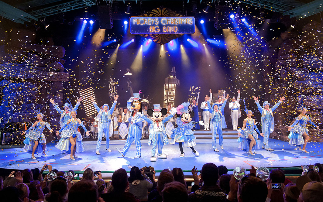 RESORT - Male & Female Vocalists for 'Mickey's Christmas Big Band' at Disneyland Paris (apply by 22nd March