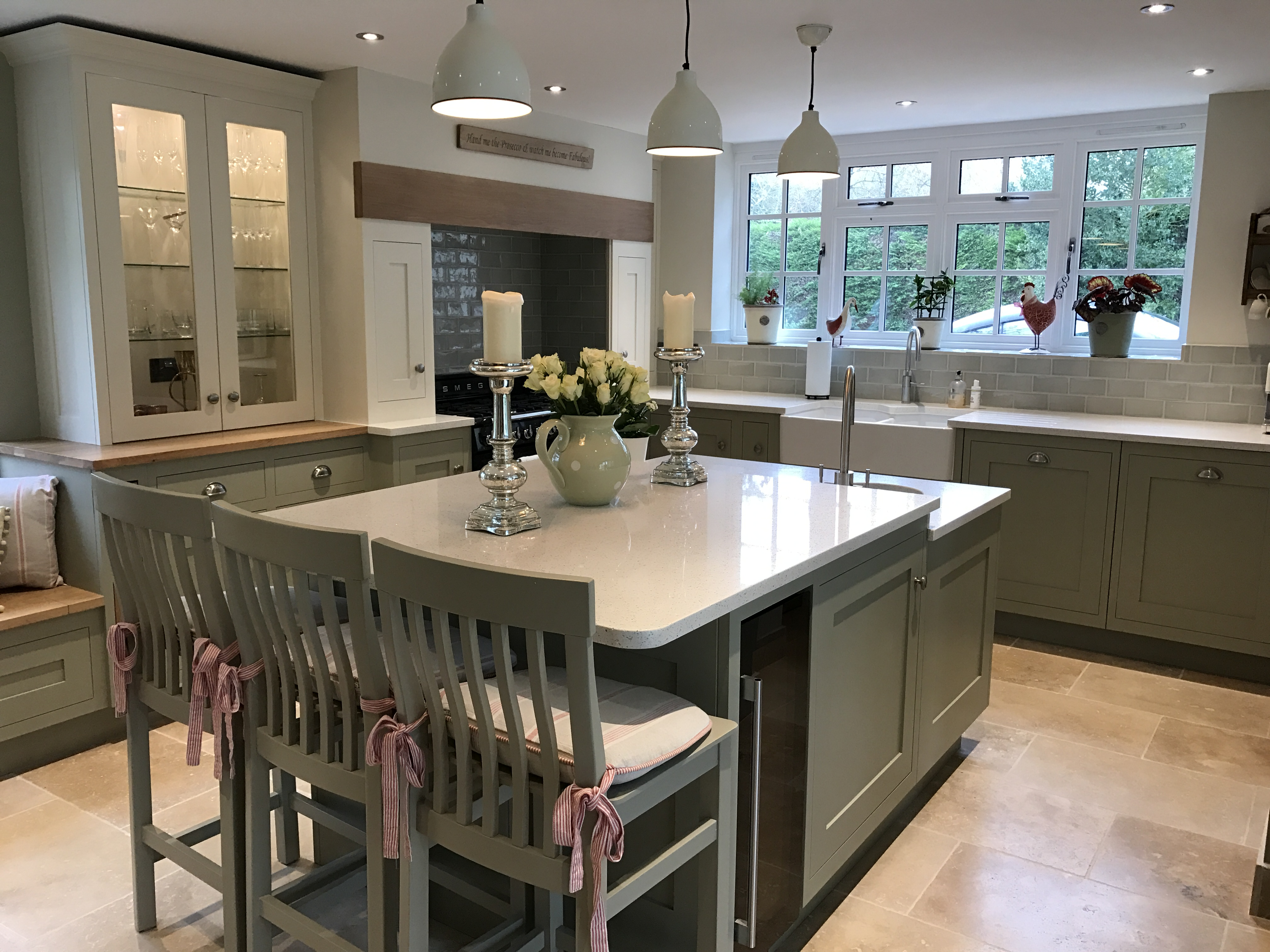 Bespoke-kitchen-island-Guilden Morden