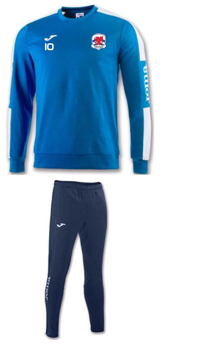 GLAMORGAN AFC SWEATER SUIT