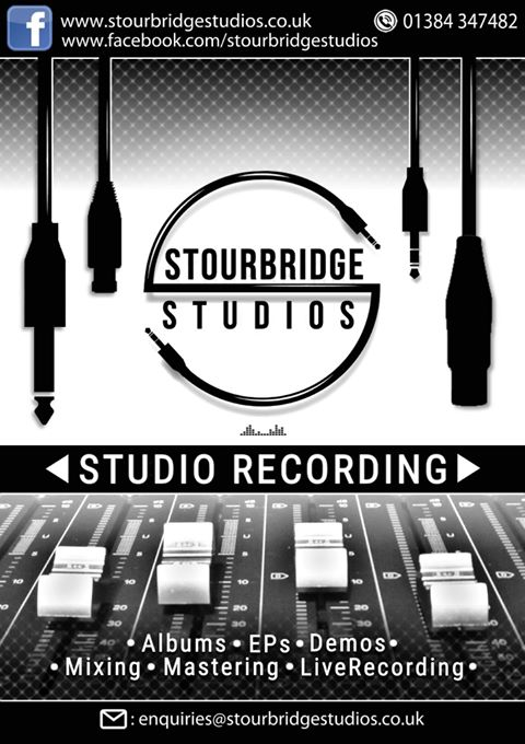 Stourbridge Studios: Studio and Live Recording, Mixing, Mastering