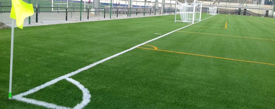 empresas construccion campos futbol césped artificial