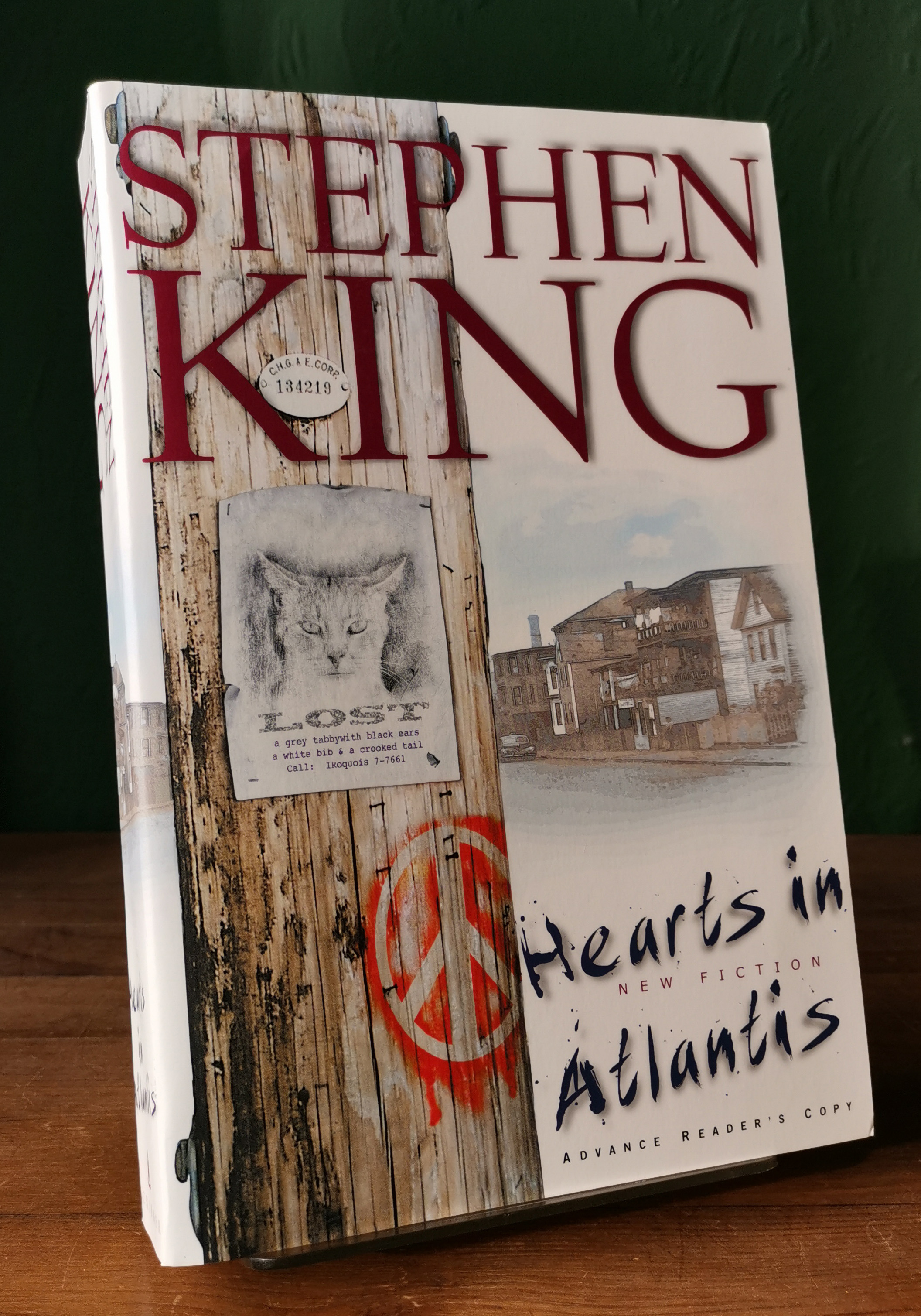 Hearts In Atlantis US ARC
