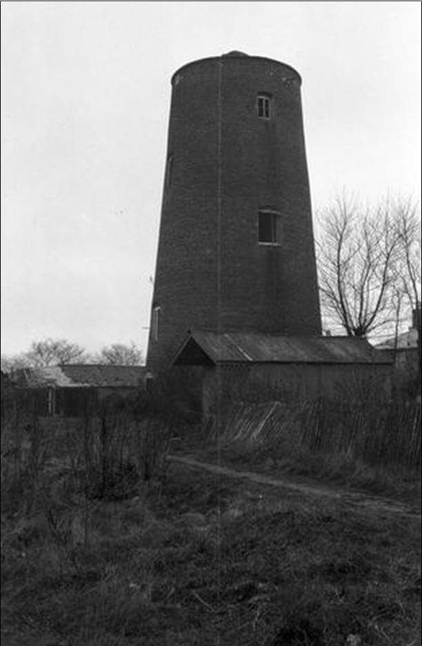 The Mill after sails removed