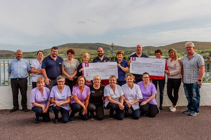 Local charities in Castletownbere and Kenmare benefit from bumper charity donation from Ring of Beara Cycle 2018