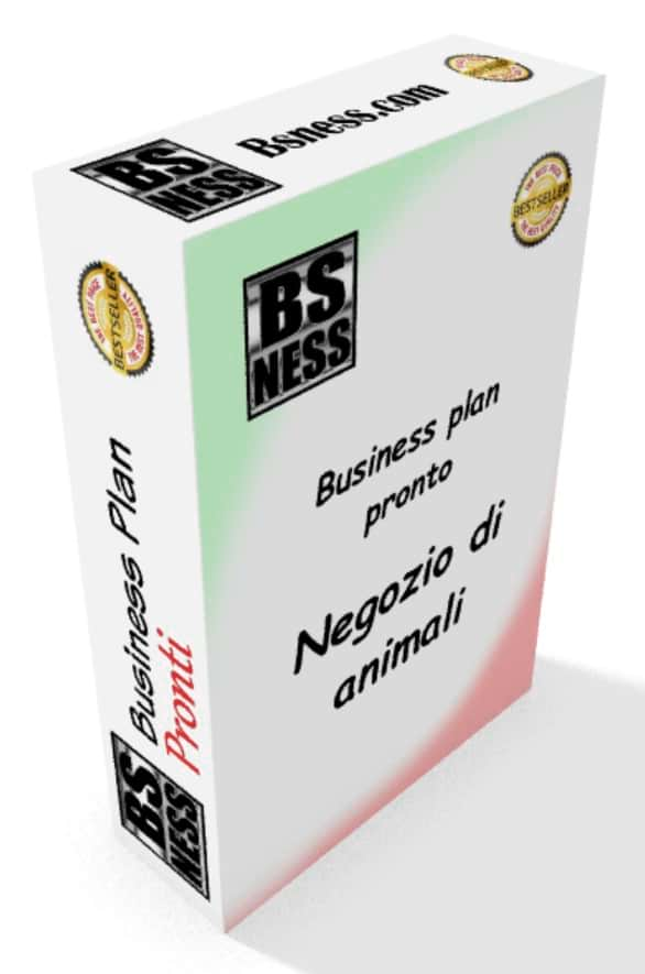 software business plan negozii animali