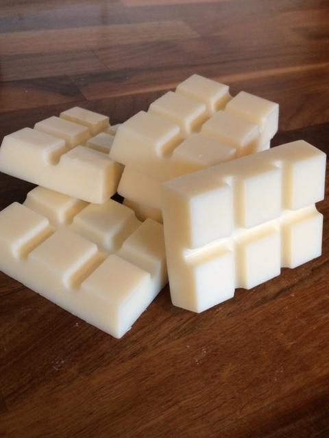 Vanilla soy wax melt bar