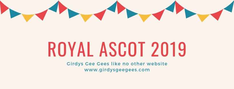 Royal Ascot 2019 banner with bunting