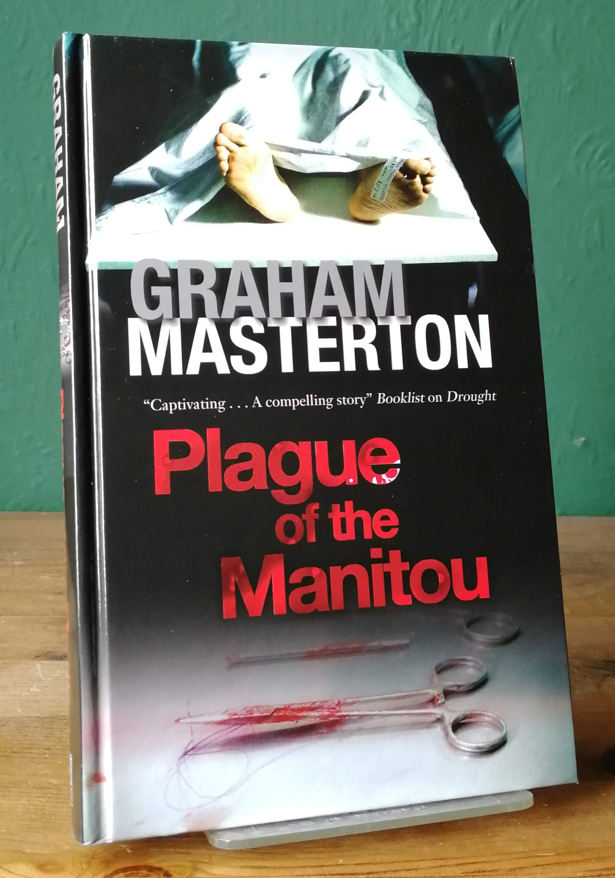 Plague Of The Manitou UK First Edition