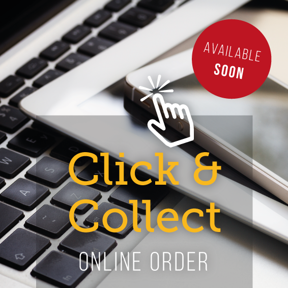 Click & Collect takeaway - online order