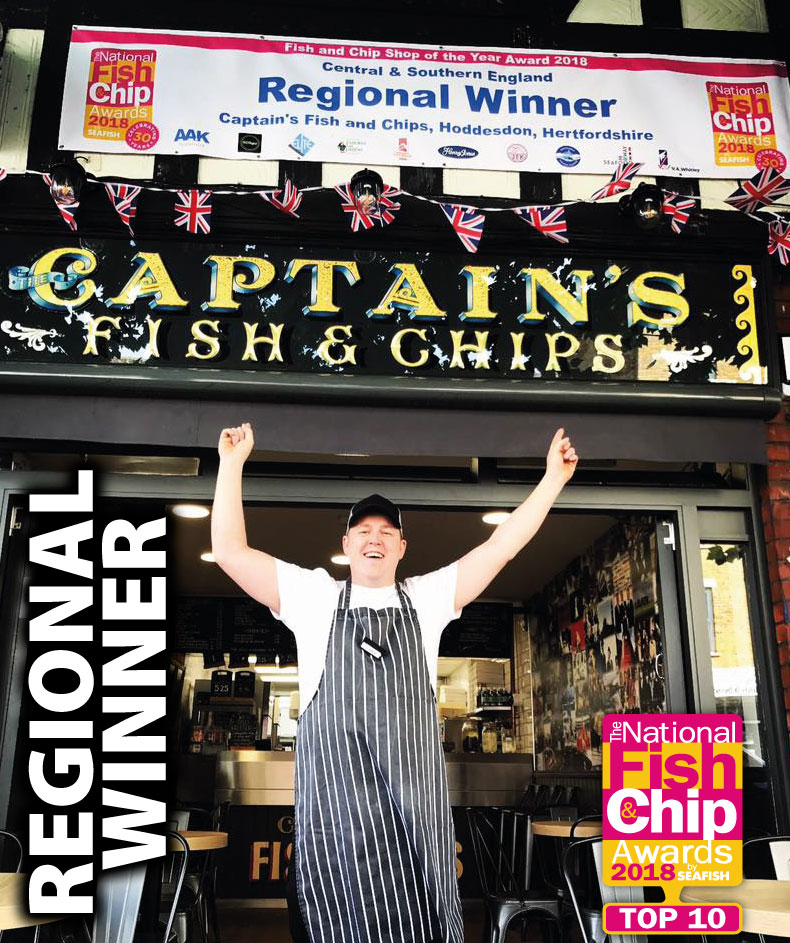 Regional Top Ten Fish & Chip Shop