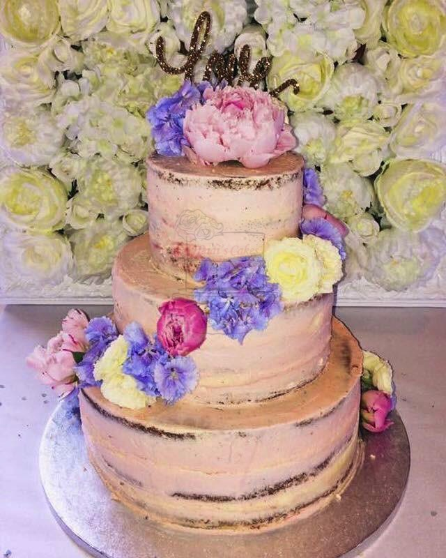 Semi-Naked Pink 3 Tier