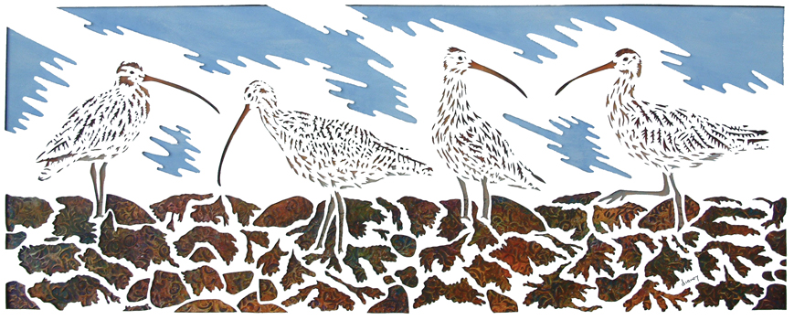 A curfew of curlews