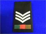 SGT Rank Slide. Single (0205 B4)