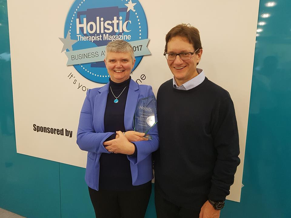 Holistic Therapist Mag Awards 2017 Jane and Earlejpg