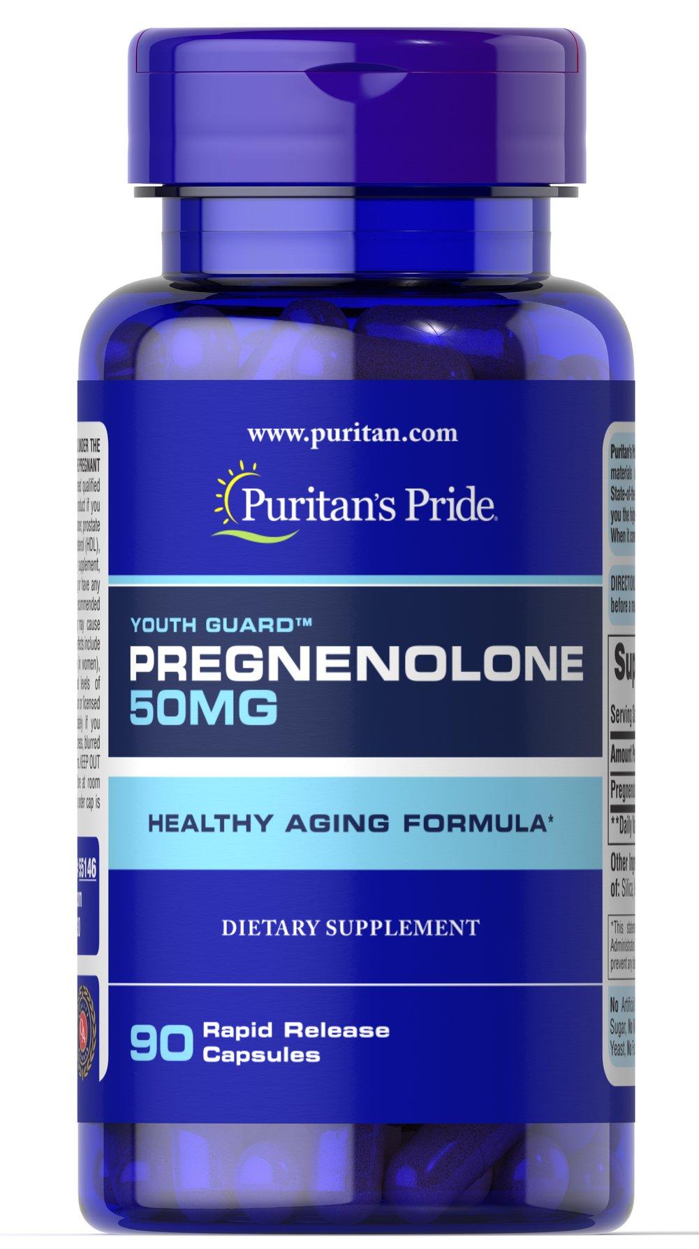Sallutar Suplementos Pregnenolone 50mg 90 capsDescriçäo Imagem