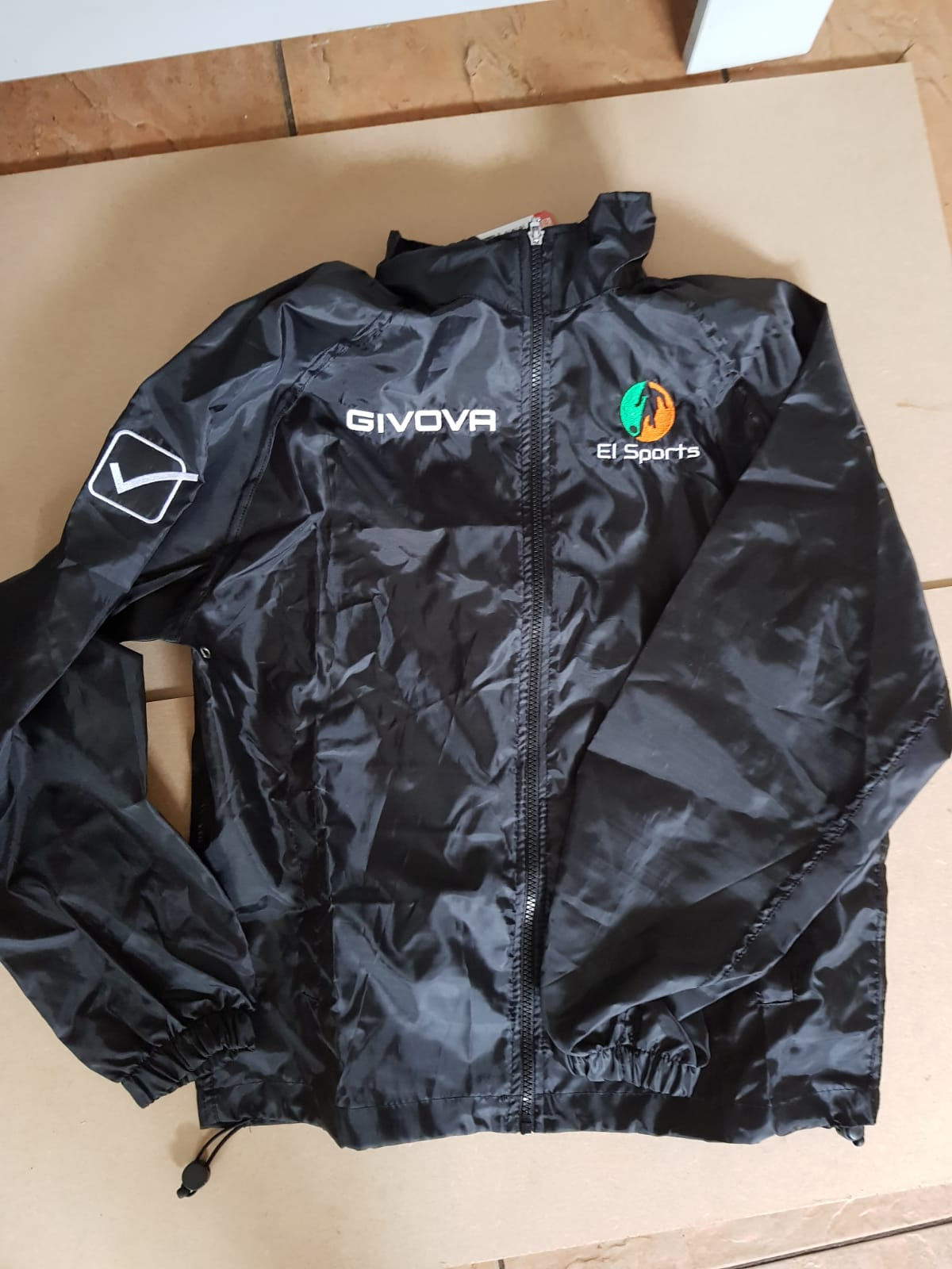 EISports Light Black Rain Jacket