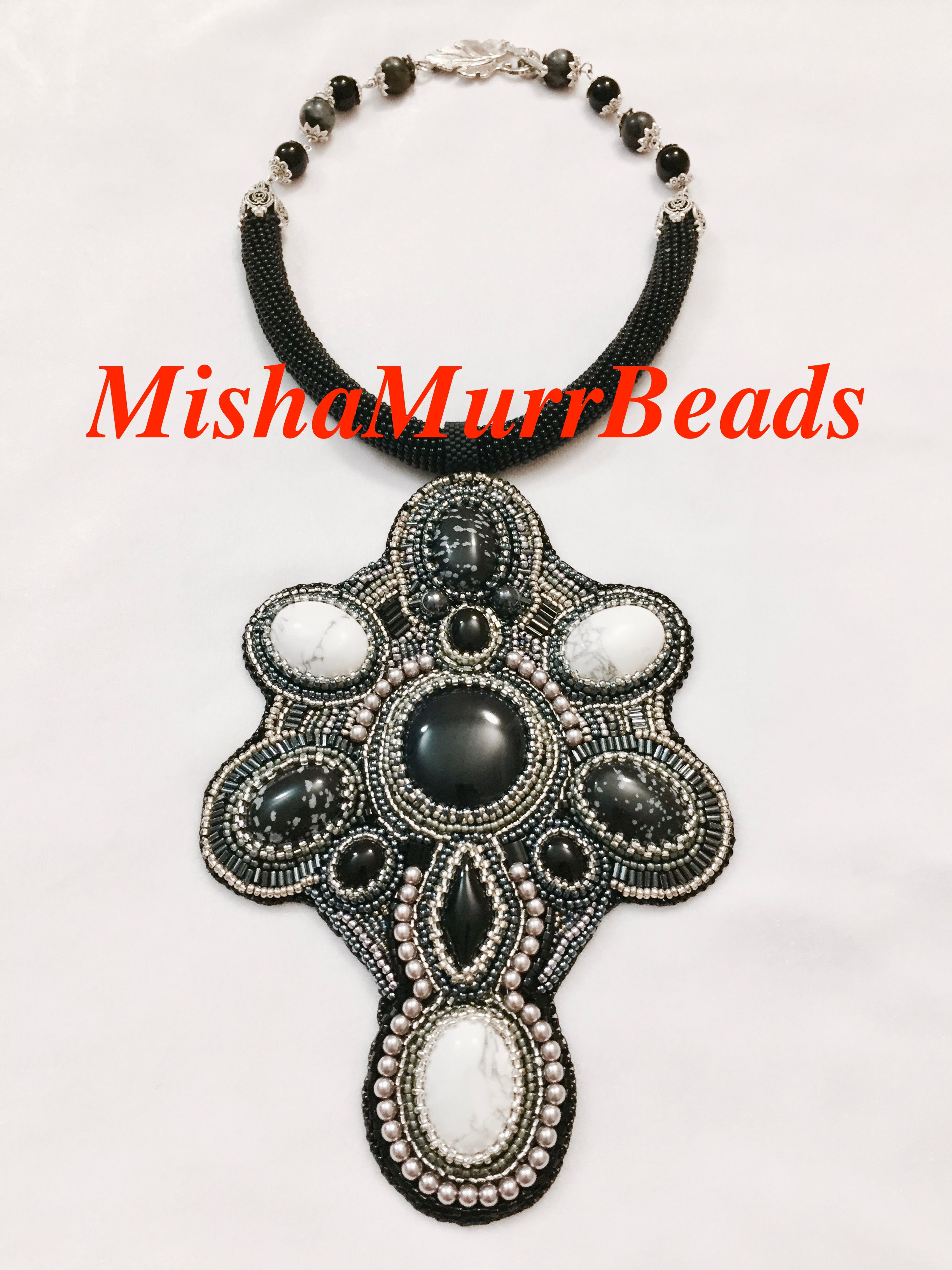 Necklace Black See
