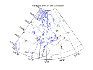 Scalar Field PCA of Hurricanes affecting the Maritime Regions of Canada (Preliminary Study)