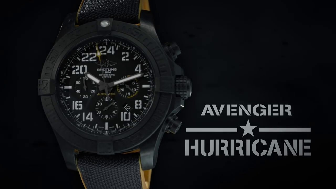 Replica Breitling Avenger Hurricane 45 Military Watch Guide
