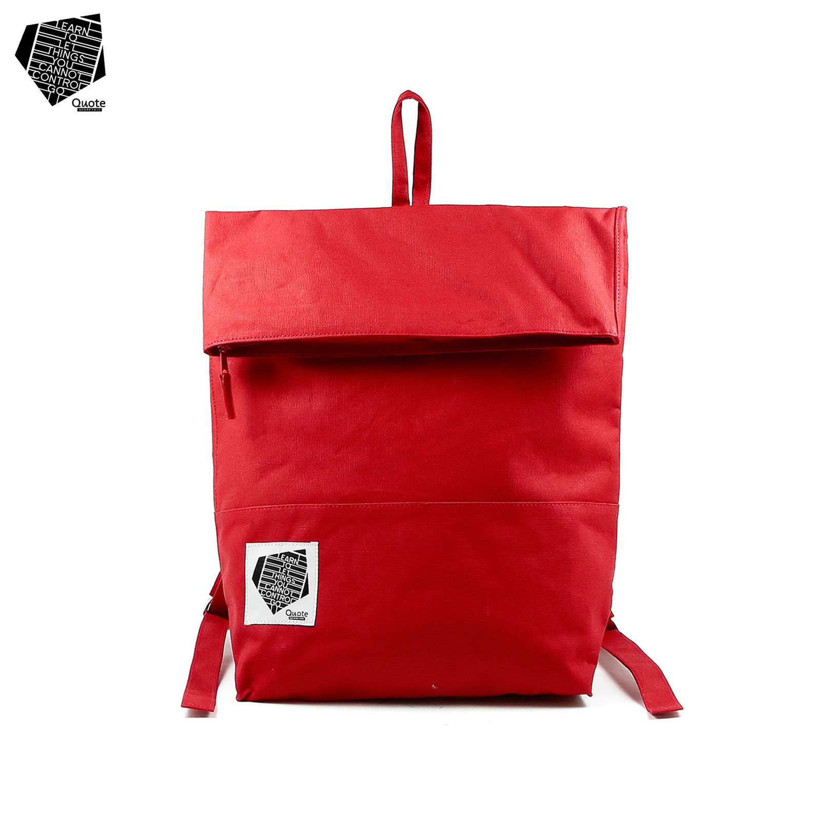 Folder Daypack Red || フォルダ