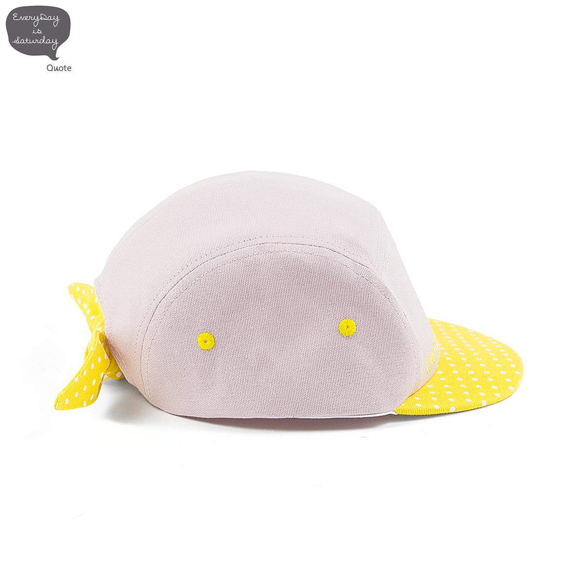 ButterCup 5 Panel Bow Cap || 5パネルキャップ