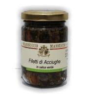 Filettii di Acciuga al verde 160 Gr.