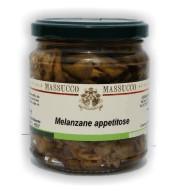 Melanzane sott'olio d'oliva 300 Gr.