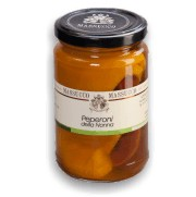 Peperoni sott'olio d'oliva 300 Gr.
