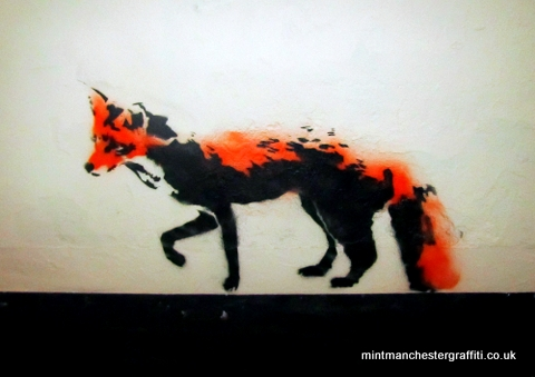 Stewy Northern Fox Stencil