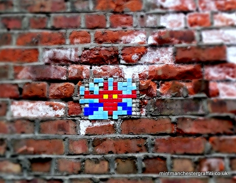 New Wakefield St Space Invader