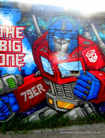 Transformers Berlin Graffiti