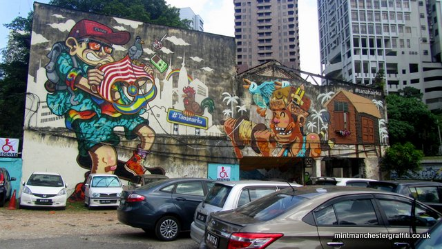 KL Car Park Graffiti