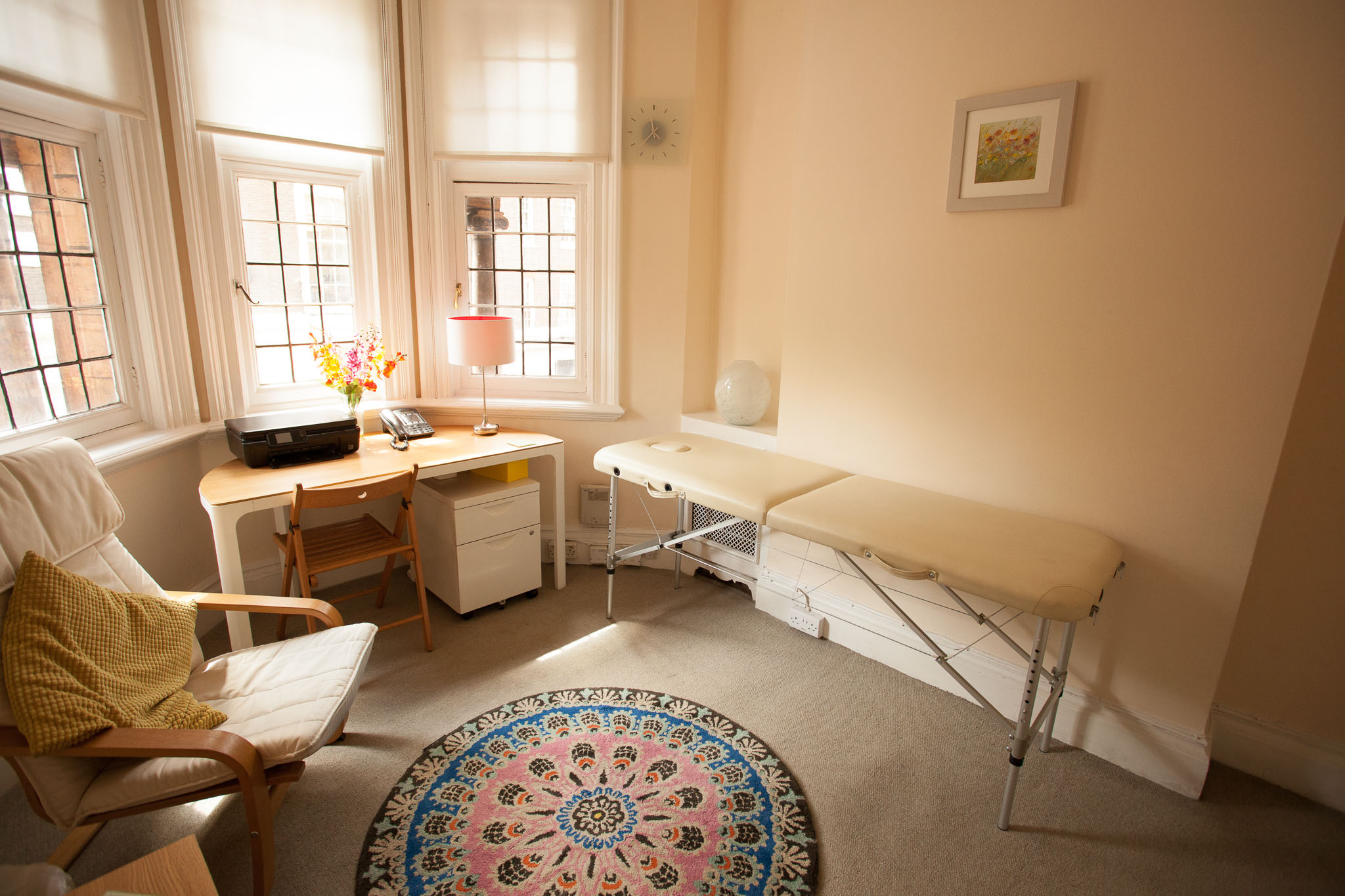 Therapy Room in London Harley Street