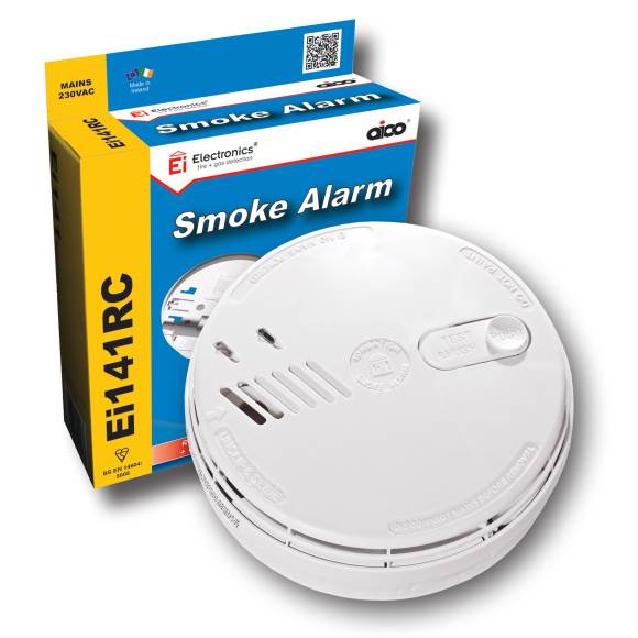 aico ei141rc ionisation smoke alarm. Black Bedroom Furniture Sets. Home Design Ideas
