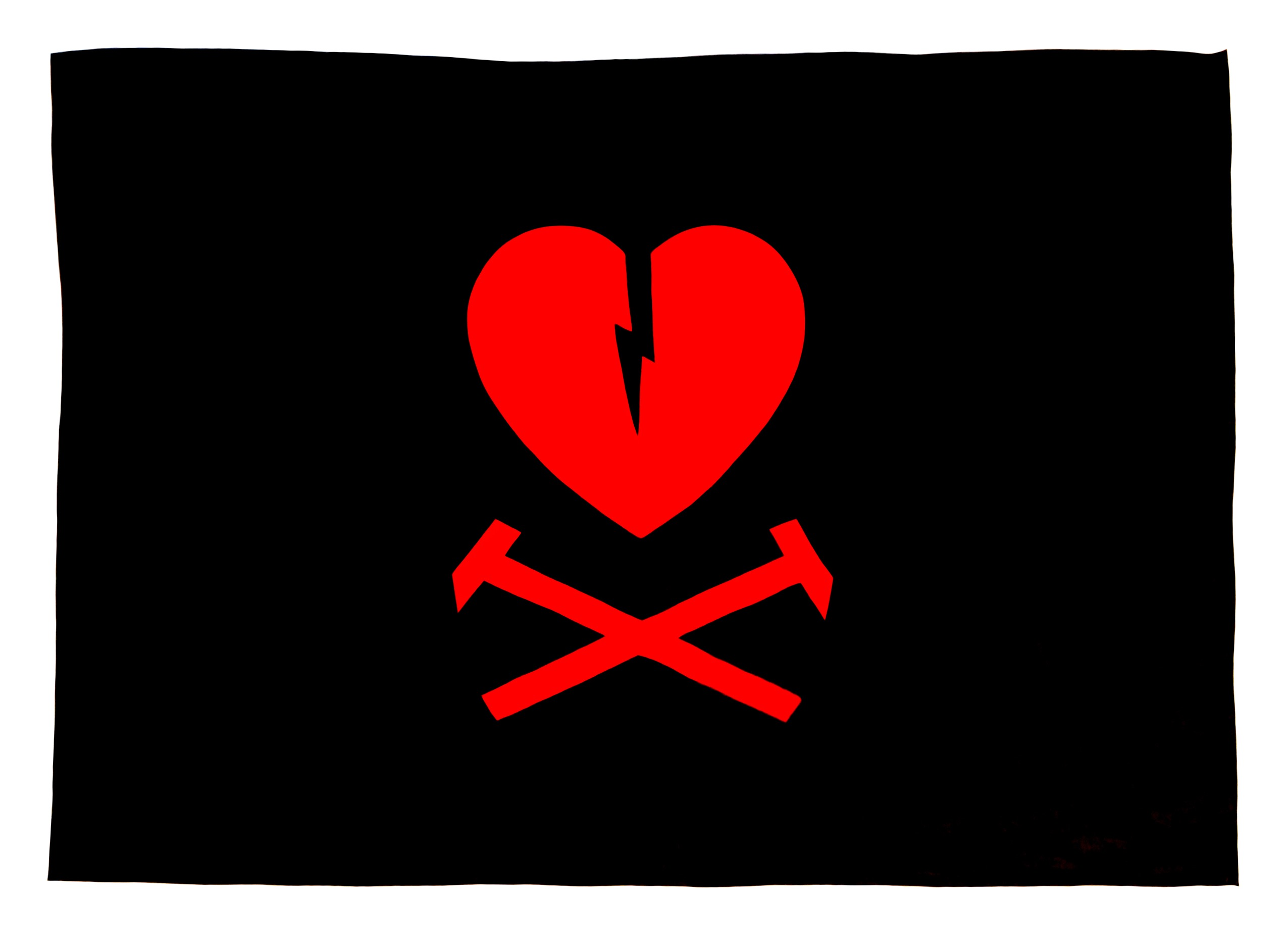 Flag Of The Heartbroken Nation by JF Whitney 2012