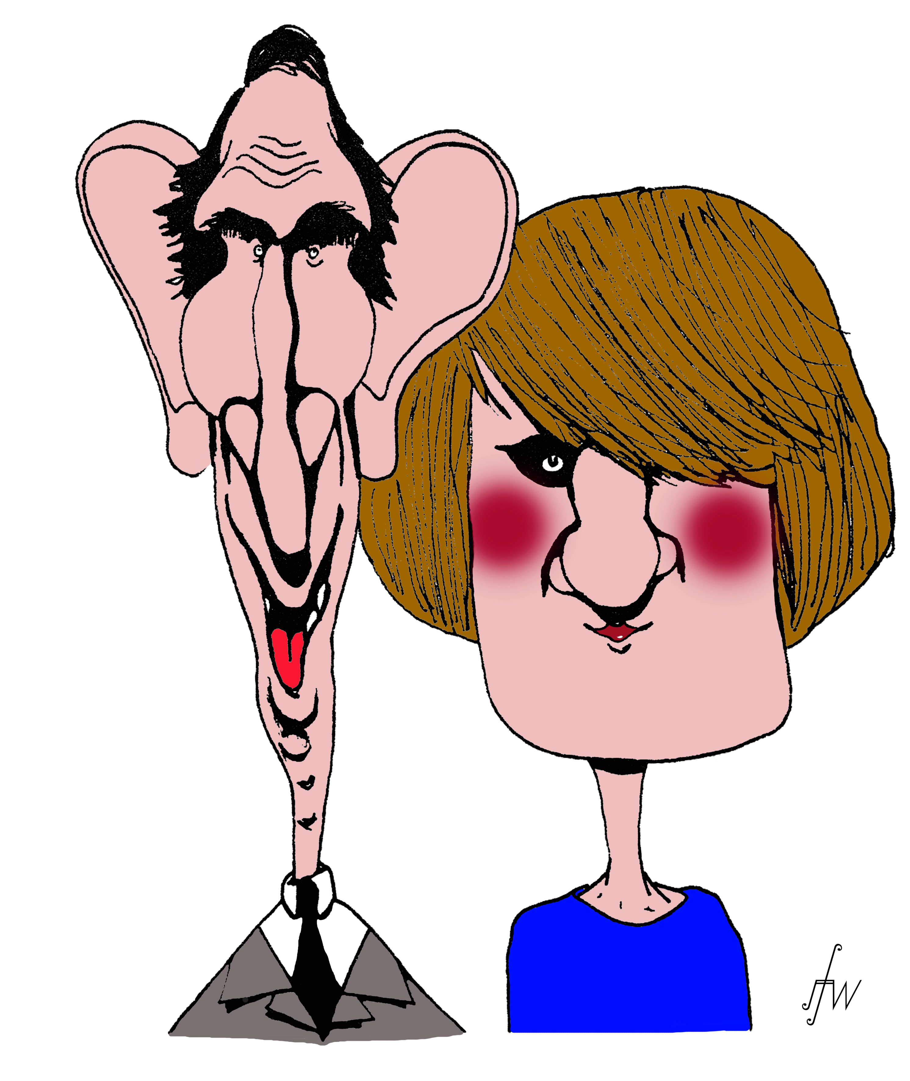 Charles & Diana by JF Whitney 1984