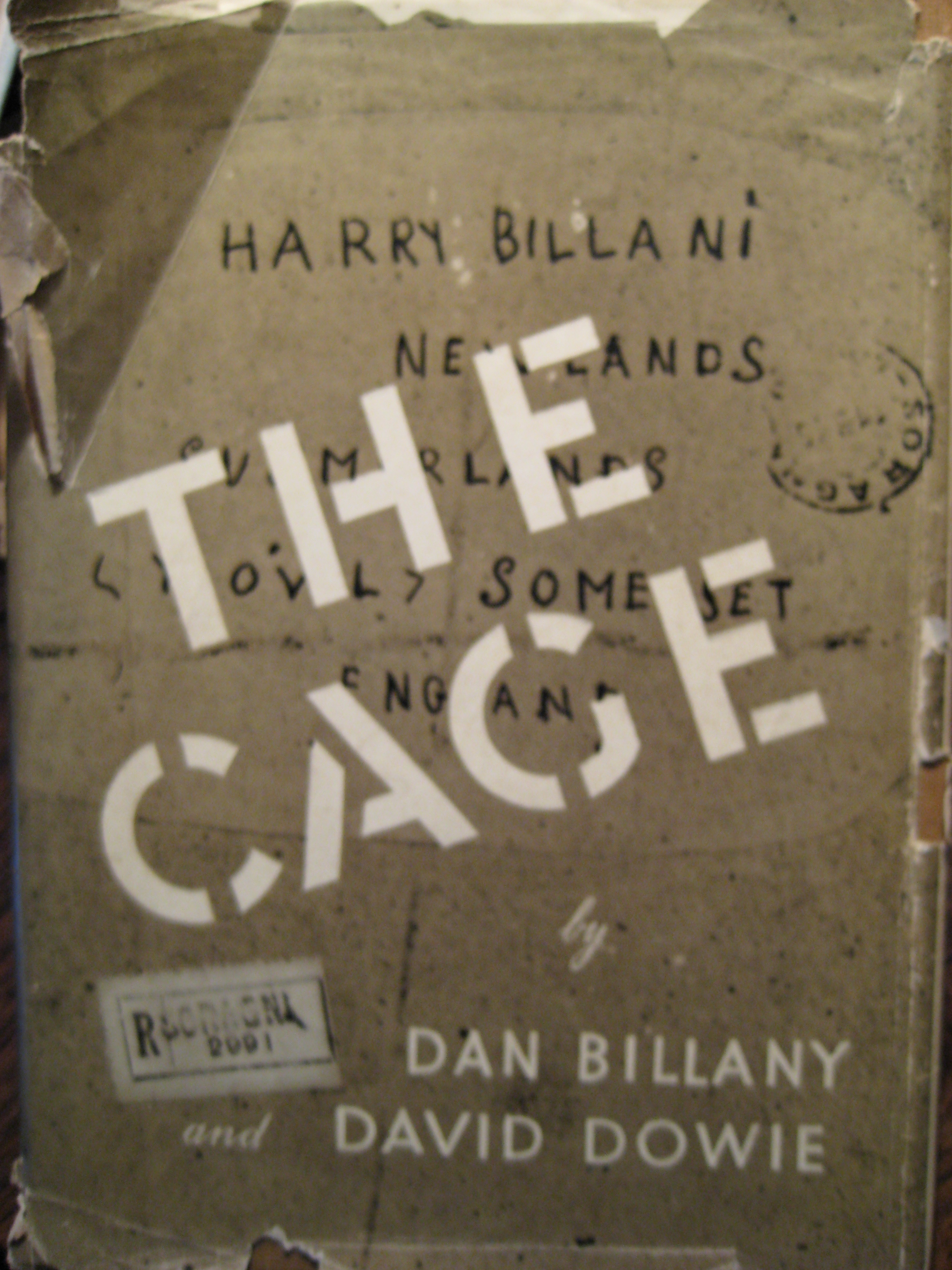 The Cage by Dan Billany and David Dowie