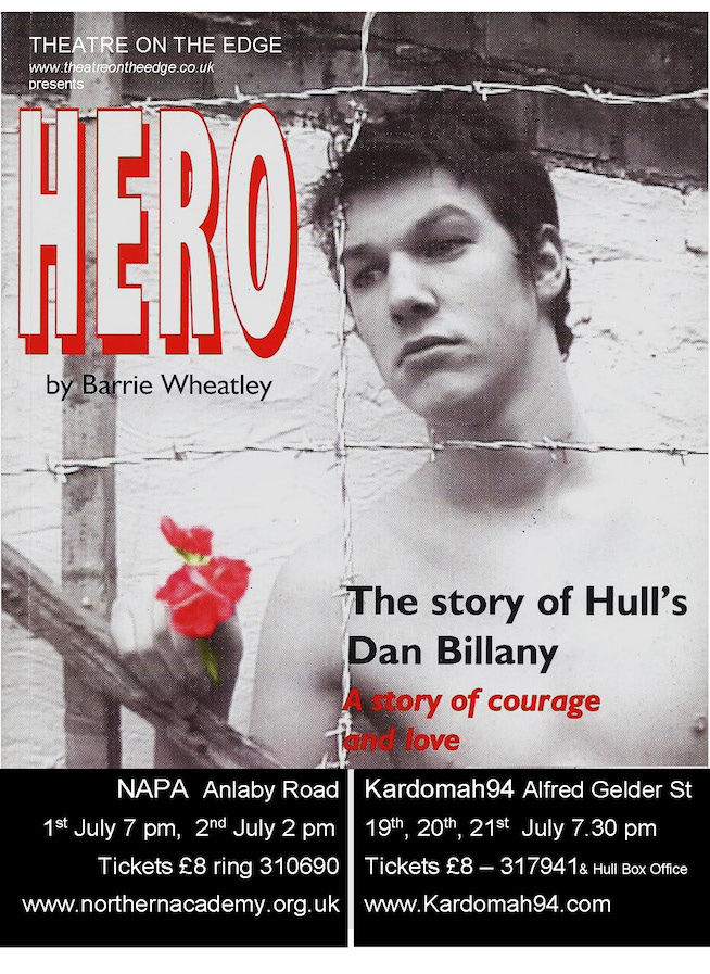 Dan Billany Theatre on the Edge / Hero