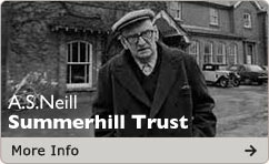 A.S.Neill founder of Summerhill School