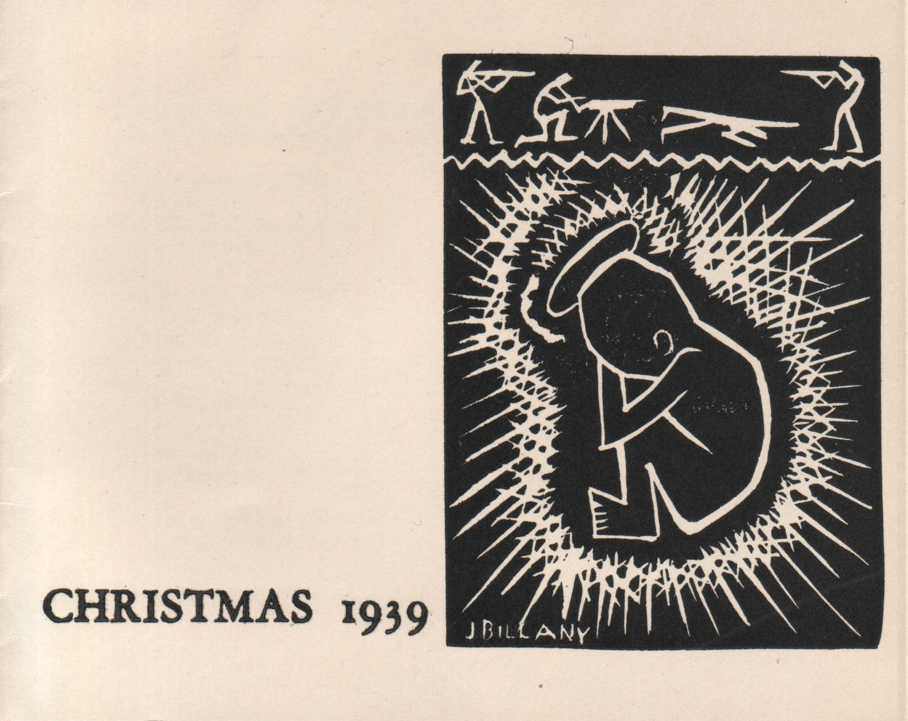 Dan and Joan Billany/Christmas Card
