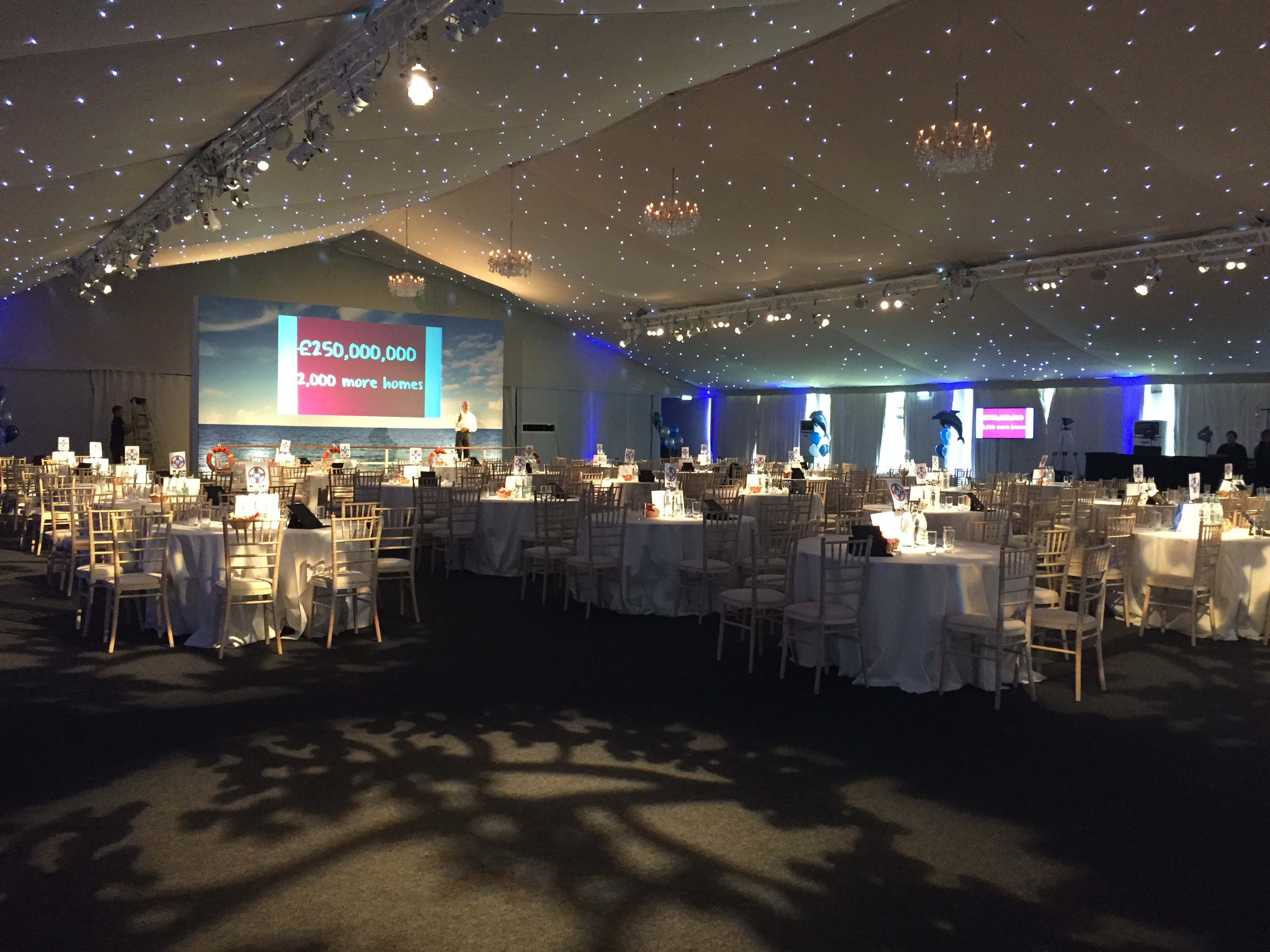 Corporate Marquee Event