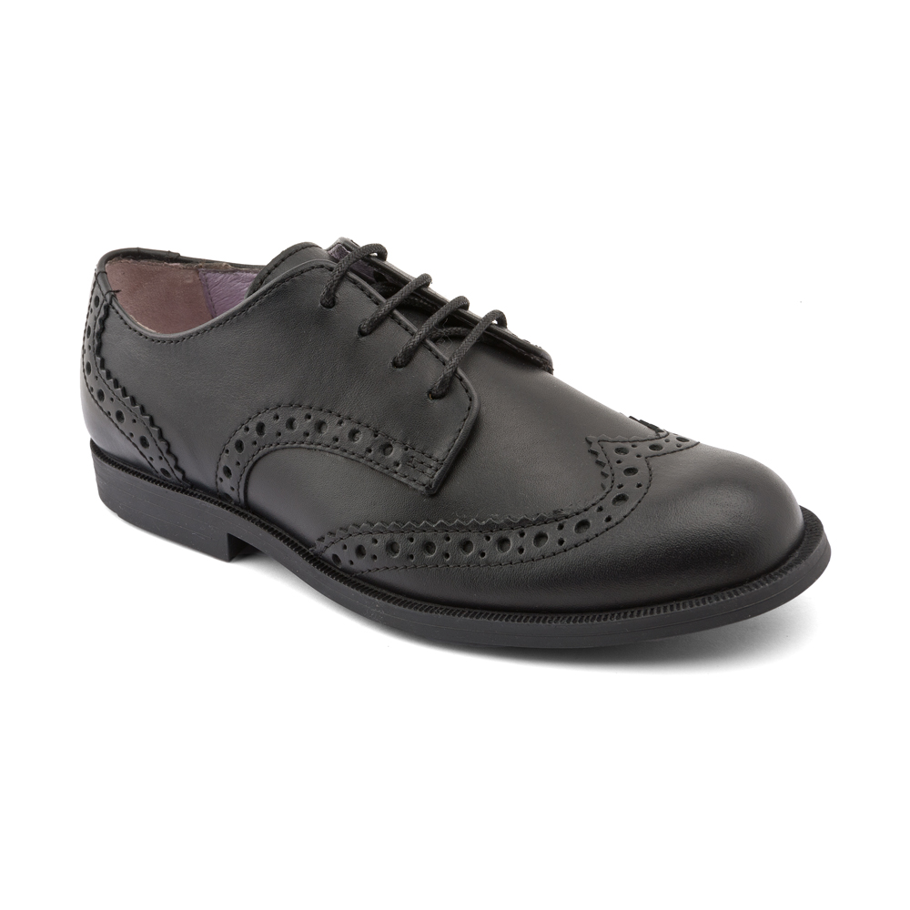 Black leather brogue  £46-£49