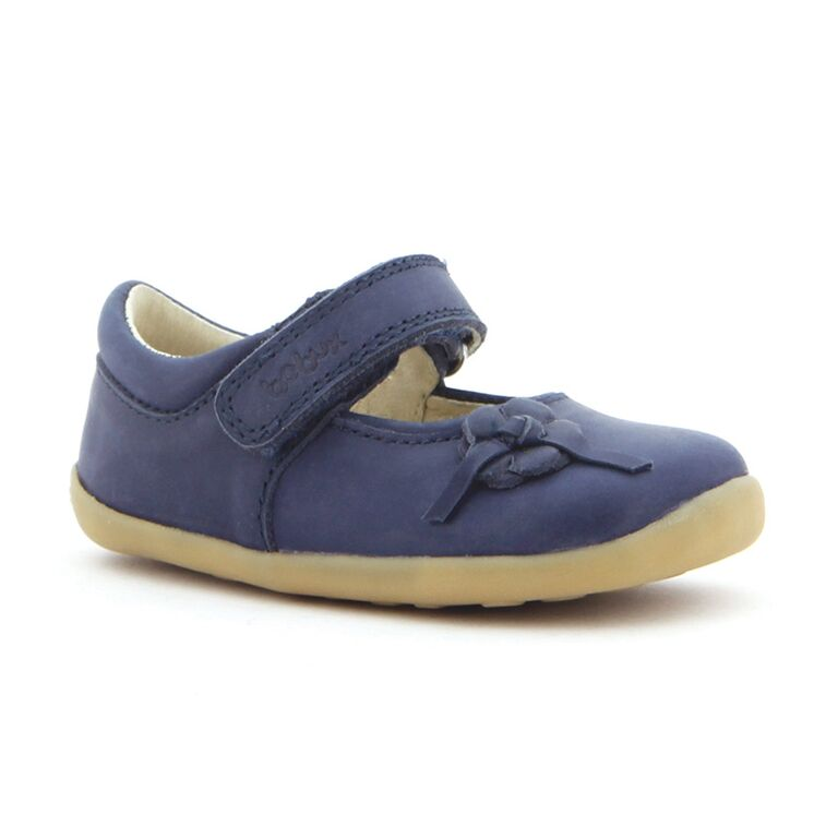 Navy leather shoe  £35
