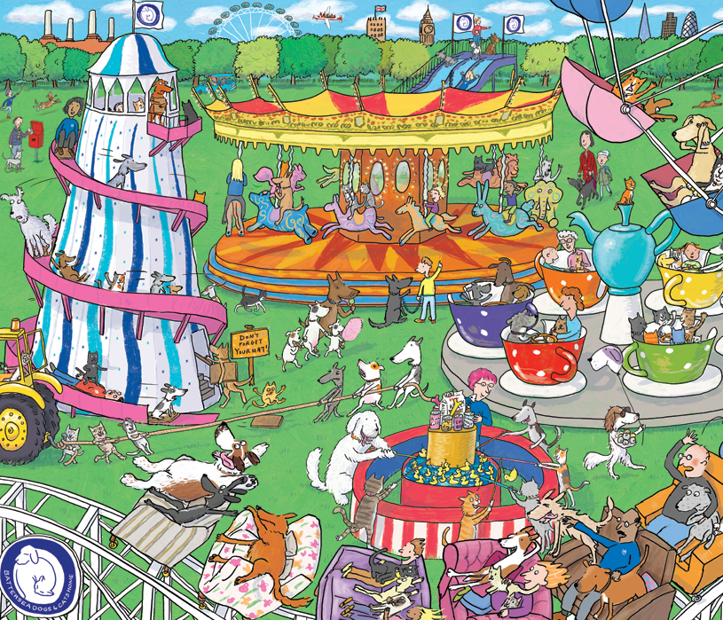 Battersea Dogs & Cats Home puzzle