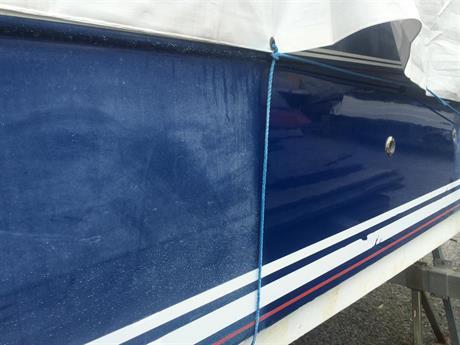 polera oxiderad båt