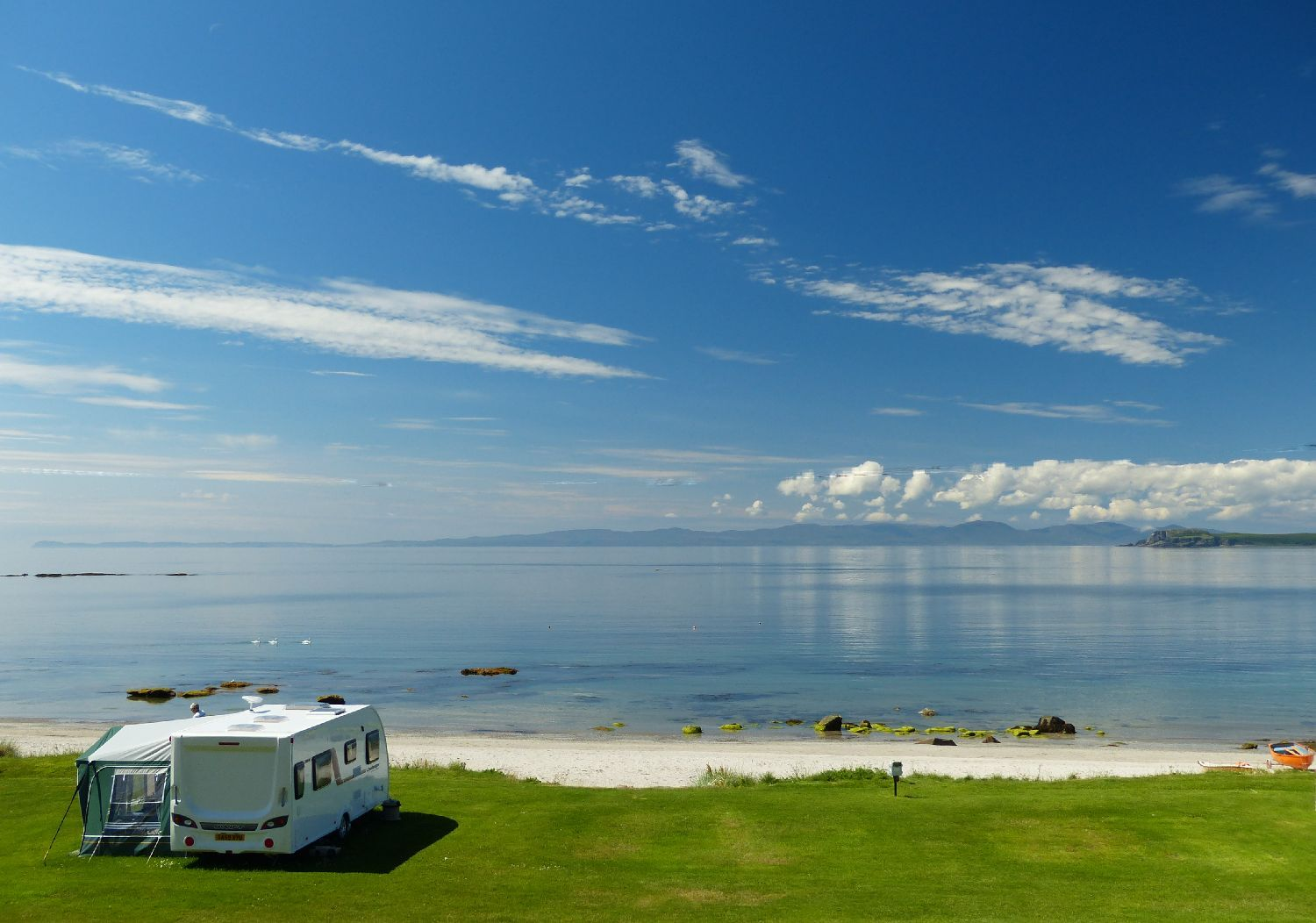 Touring Park Views. Copyright © Muasdale Holiday Park