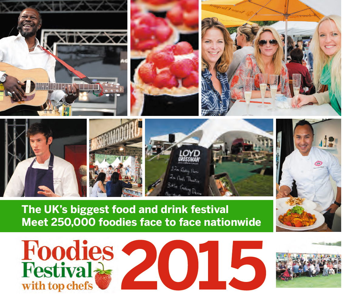 Foodies Festival Collage