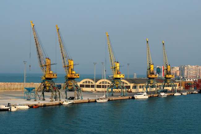 trasporti dal porto di Durazzo